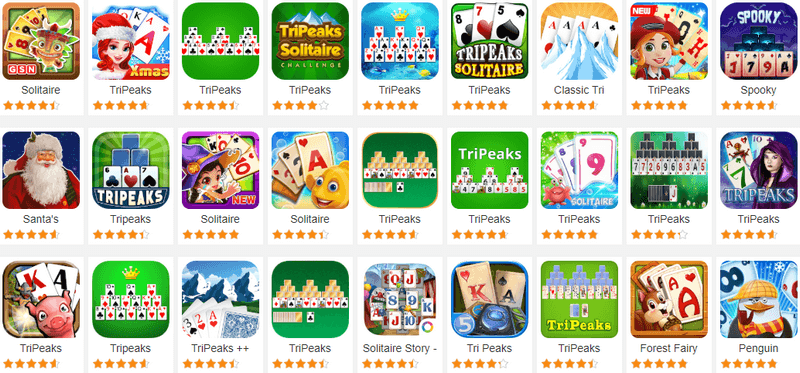 TriPeaks Solitaire Card Games Free 1