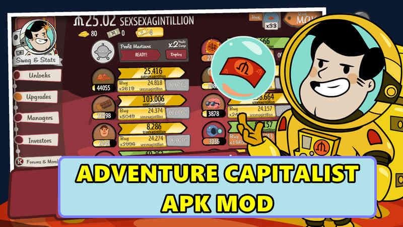 ADVENTURE CAPITALIST APK MOD