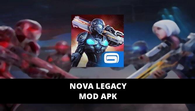 N.O.V.A. Legacy Mod APK
